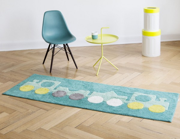 Minividuals Teppich rechteckig 70 x 200 cm