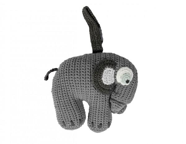 Sebra Häkel-Spieluhr, Fanto der Elefant
