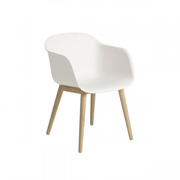 muuto Fiber Chair Armlehnstuhl, Wood Base