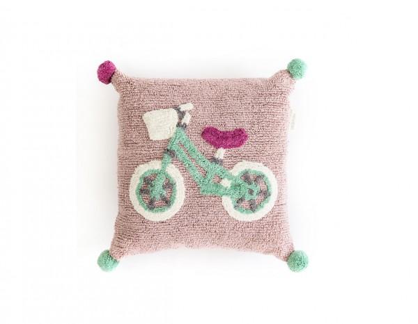 Minividuals Kissen Die Biker 50 x 50 cm