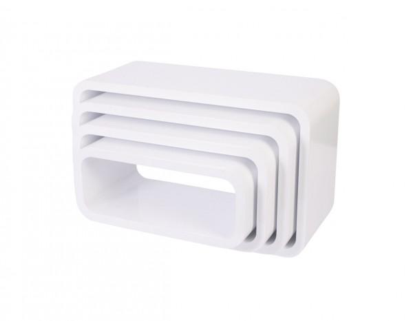 Sebra Cube Regale, 4er Set