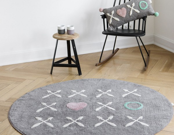 Minividuals Teppich XoXo rund 150 cm